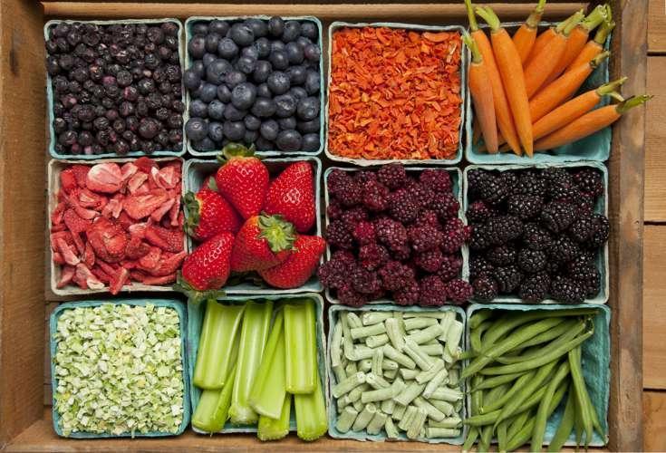 Opbevaring af frugt og grønt