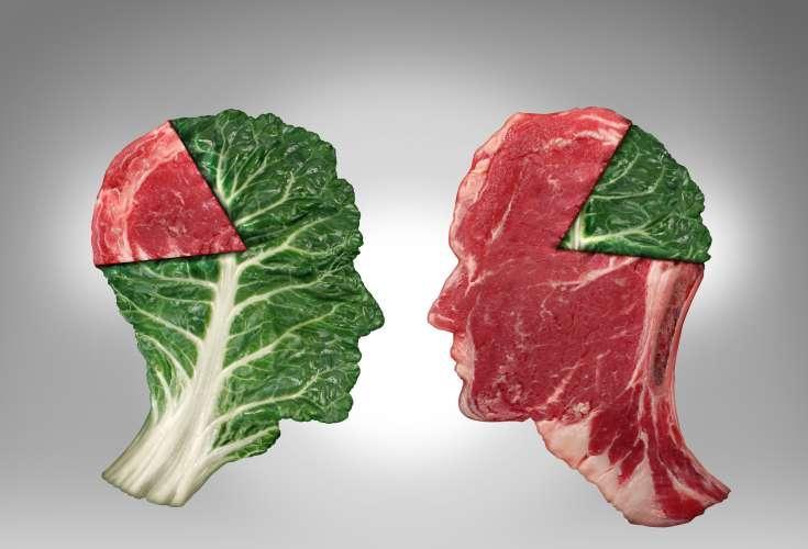 Er vi kød- eller plantespisere?