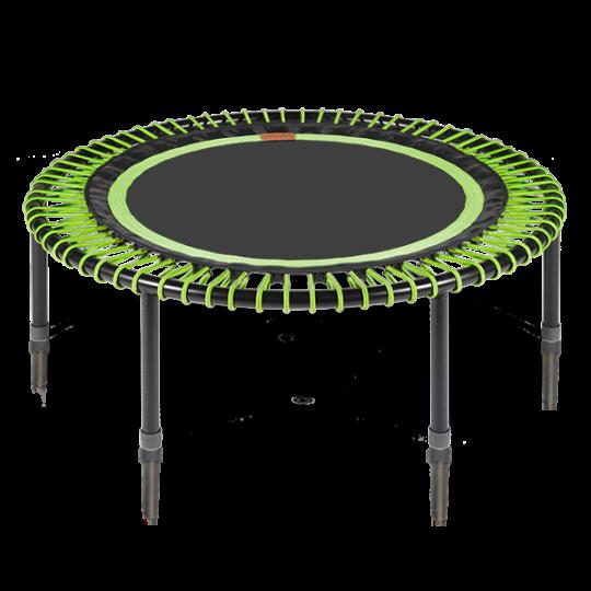 Bellicon - verdens bedste trampolin (grøn-sort med foldeben)