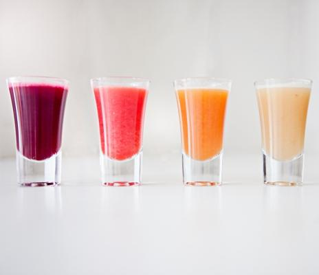 Ny temaside: Juice Shots