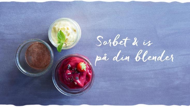 Nyt tema ' Is på 50 sek. på din blender'