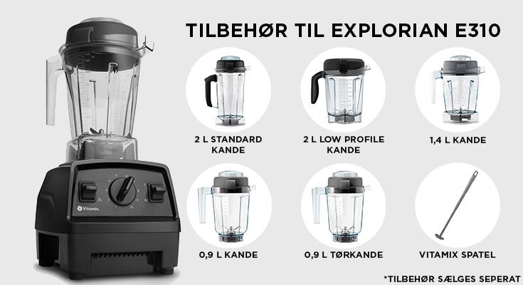 E310 TILBEHØR