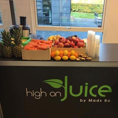 Juicebar Frugt og Gront